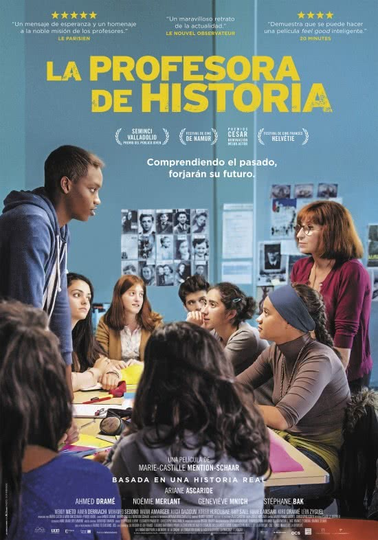 La profesora de Historia Cartel