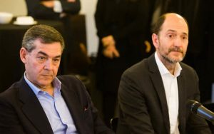 Pedro Carreras e Ignacio Mugica.