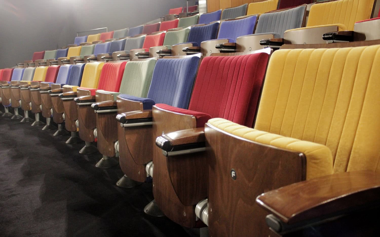 Sala de cine de la Academia del Cine. Foto: Sonia Aguilera