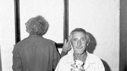 Roger Ballen Framed, 1997.