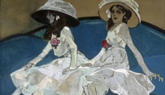 Francesc Xavier Gosé, Les dues germanes. c. 1910, MNAC.
