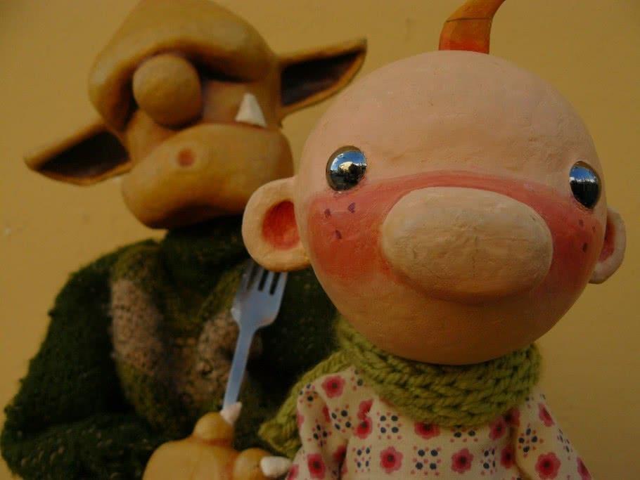 ¡A comer!, de Peus de Porc