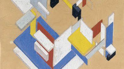 Theo van Doesburg. Construcción espaciotemporal II (1924). Museo Thyssen-Bornemisza.