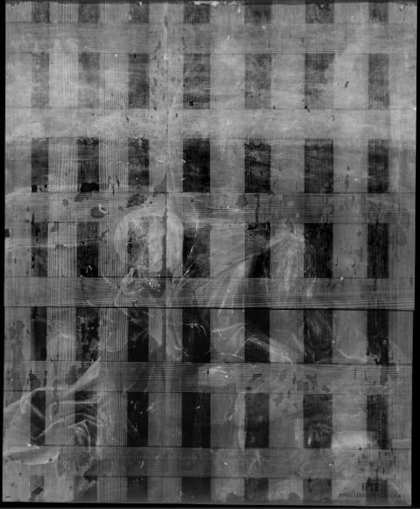 El Bosco. Meditaciones de San Juan Bautista, 1490 (Fotografía con Rayos X)