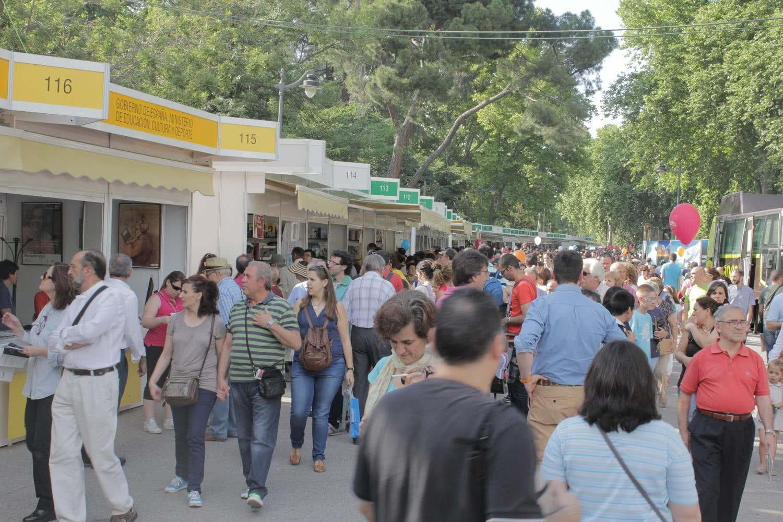 Feria del Libro de Madrid. Foto: Sonia Aguilera