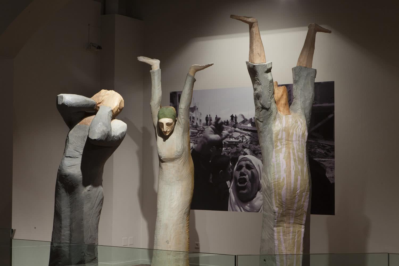 Francisco Leiro. Exposición 'Escultura sentida'. Foto: Xurxo Lobato
