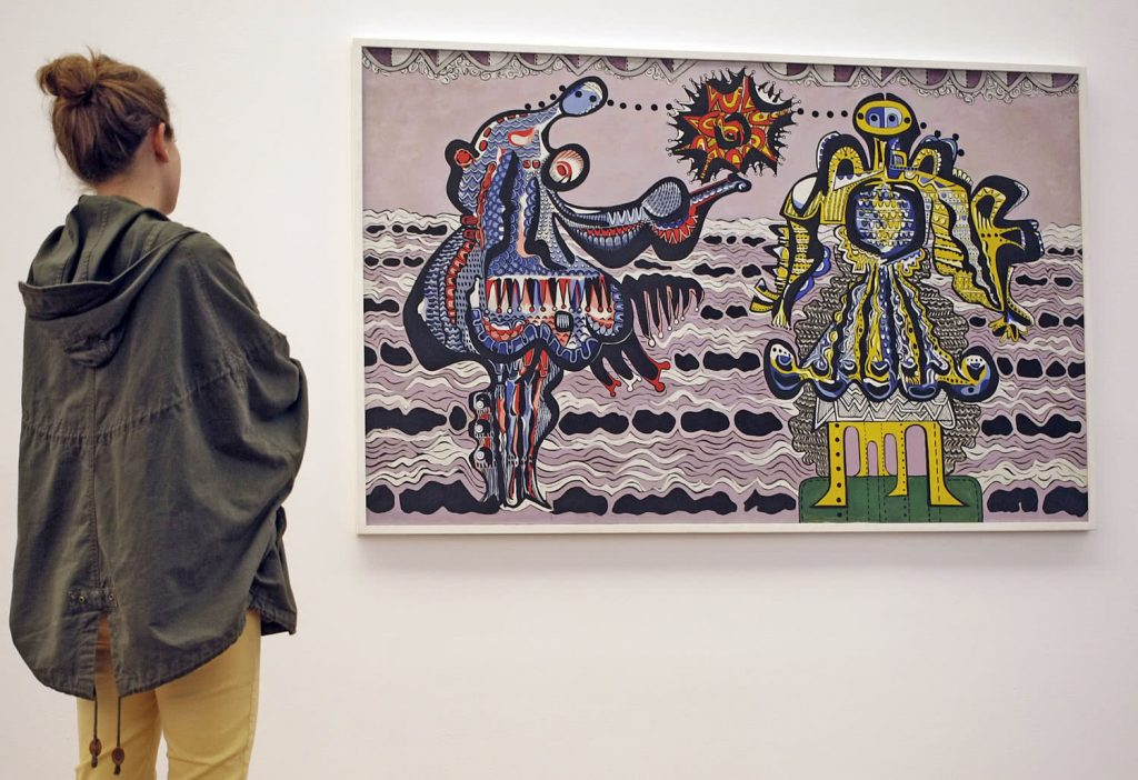 Exposición 'Eugenio Granell, el regreso de los amantes'