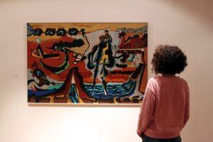 Exposición 'Eugenio Granell, el regreso de los amantes'.