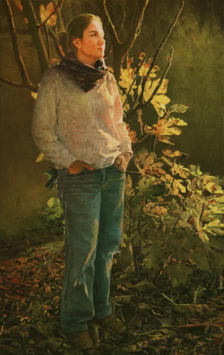 Isabel Guerra. De pie