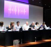 Presentación de la Mesa sectorial del arte contemporáneo. Foto: Sonia Aguilera