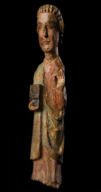 Pantocrator o Maiestas Domini. Románico catalán, finales del siglo XII