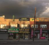 Paul Graham. Pawn Shop, Ozone Park, New York, from the series Does Yellow Run Forever?, 2013.