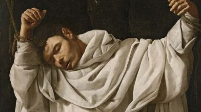 Francisco de Zurbarán. San Serapio (detalle). 1628. Hartford, Wadsworth Atheneum Museum of Art, CT. The Ella Gallup Sumner and Mary Catlin Sumner Collection Fund.