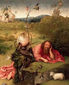 El Bosco. Meditaciones de San Juan Bautista (1485-1510).