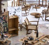Estudio de Joan Miró en Palma de Mallorca. © Jean Marie del Moral.