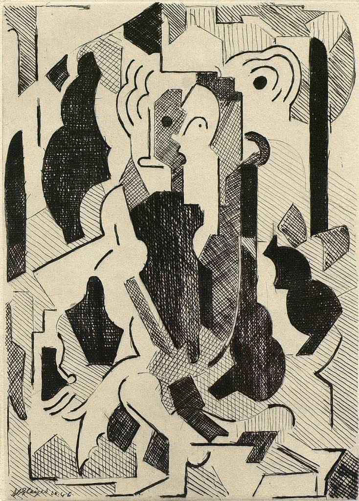 Albert Gleizes. Sin título, 1946