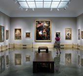 Colecciones de los Cartones de Goya y la pintura española del siglo XVIII. Foto: Sonia Aguilera