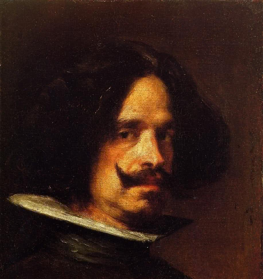 Diego de Velázquez. Autorretrato. ca.1640. Museo de Bellas Artes de Valencia.