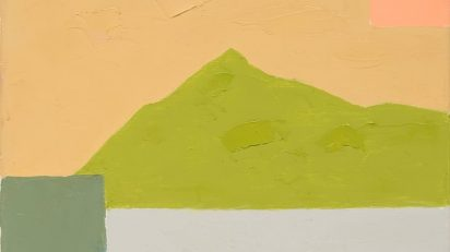 Ethel Adnan. Sin título, 2014 b. Galerie Lelong, París.