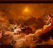 Francisco de Goya. La Gloria o Adoración del nombre de Dios, 1771-1772