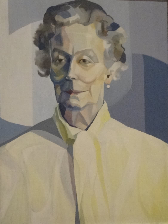 Izabella Godlewska. <em>Retrato de Fabianna Czapska, madre de la artista</em>. 1965.
