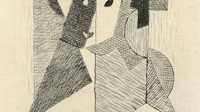 Jean Metzinger. Sin título, 1946.