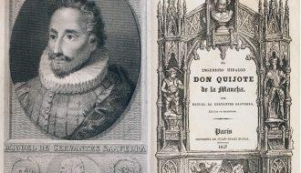 Miguel de Cervantes Saavedra (1547-1616). El ingenioso hidalgo don Quijote de la Mancha. Paris: [s. n.], 1827 (Imprenta de Julio Didot Mayor). Inventario 4258