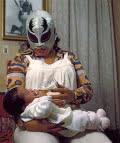 Lourdes Grobet. La Briosa con bebé