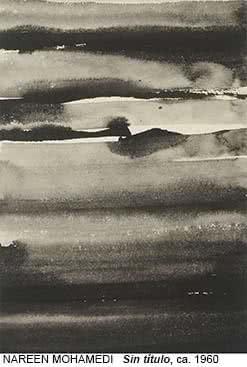 Nasreen Mohamedi. Sin título, 1960