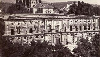 Anónimo. Palacio de Carlos V en Granada. ca.1855-1915.
