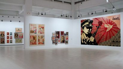 Exposición 'Your Eyes Here' de Shepard Fairey.
