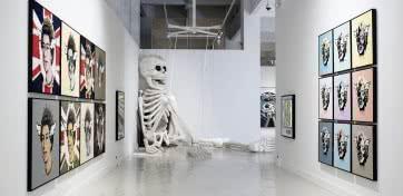 Exposición 'Wasted Youth' de D*Face