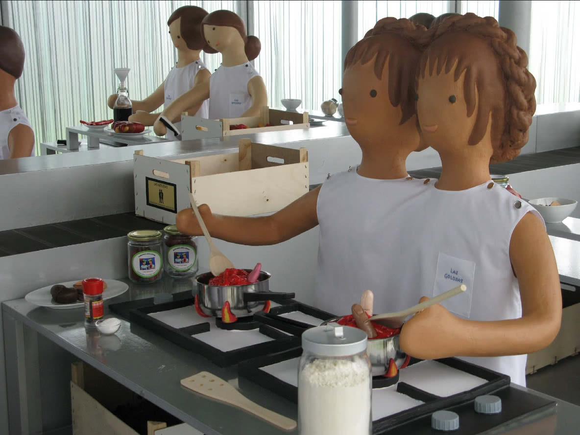 Fábrica de conservas agridulces 'Las Golosas'. Rosalía Banet.