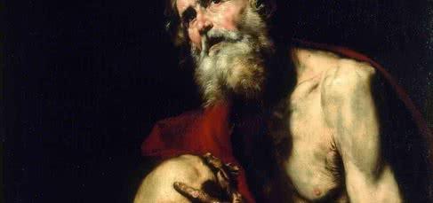 San Jerónimo penitente 1634. José de Ribera (1591 -1652). Óleo sobre lienzo. Museo Thyssen-Bornemisza. Madrid.