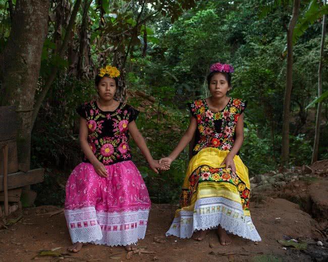 (Foto: Christian Rodríguez. De la serie 'Una flor mixe')