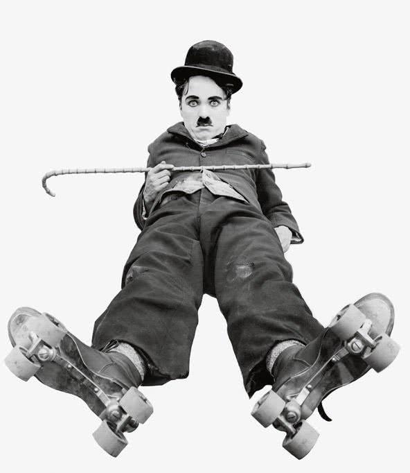Chaplin en 'The Rink', 1916. (c) Roy Export Company Establishment.