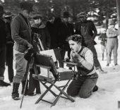 Chaplin en 'The Rink, 1916. (c) Roy Export Company Establishment.