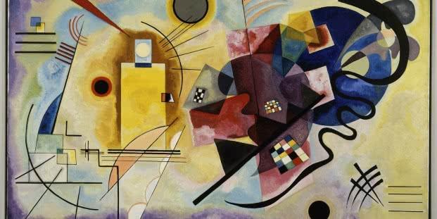 Wassily Kandinsky. Gelb-Rot-Blau, 1925.