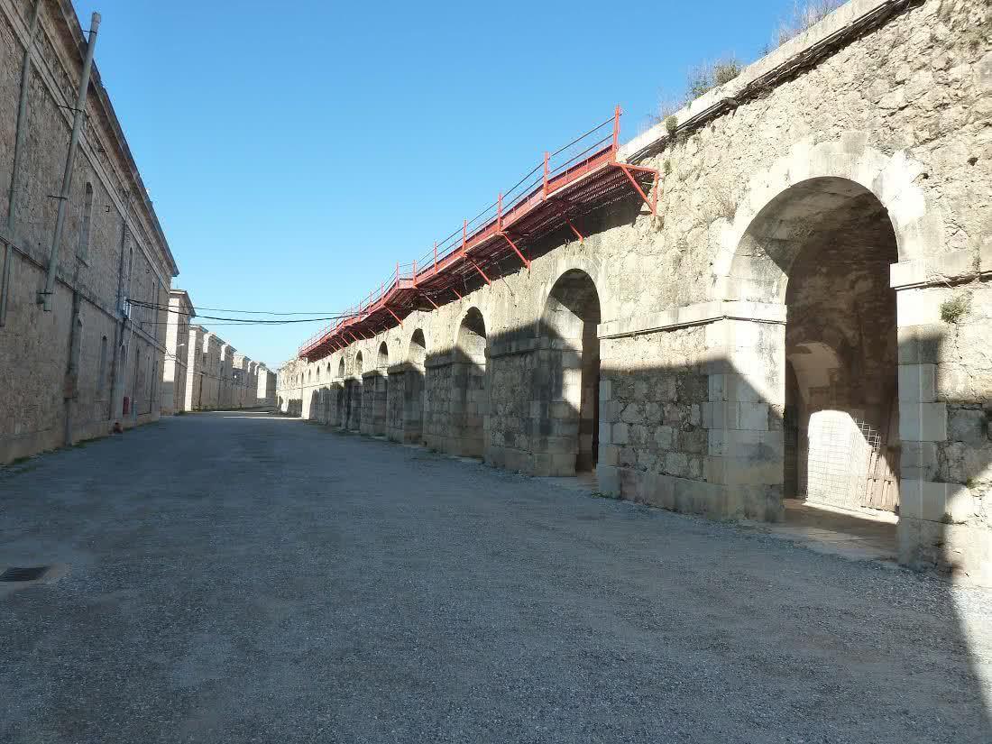 Castillo de San Fernando de Figueres (Gerona).