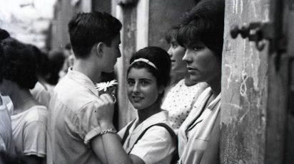Xavier Miserachs 'Festes de Gràcia, Barcelona', 1964.