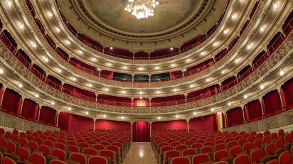 Teatro de la Comedia. Madrid.