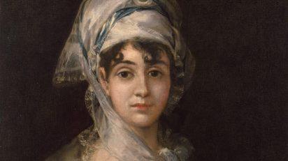 Francisco José de Goya y Lucientes. Retrato de Antonia Zárate. c. 1810-1811.
