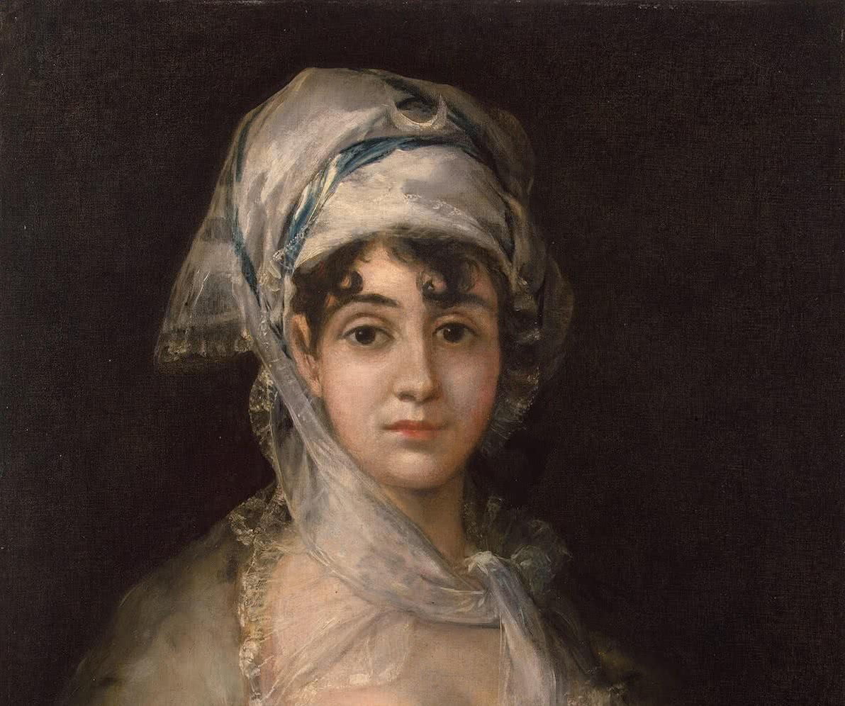 Francisco José de Goya y Lucientes. Retrato de Antonia Zárate. c. 1810-1811.