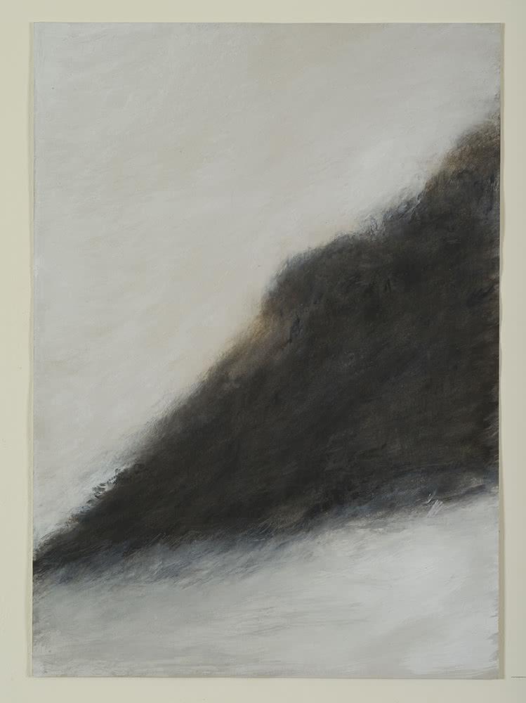 'Fuga', 2011. Juan Ariño. Acrílico sobre cartulina, 52,6 x 37,4 cm.