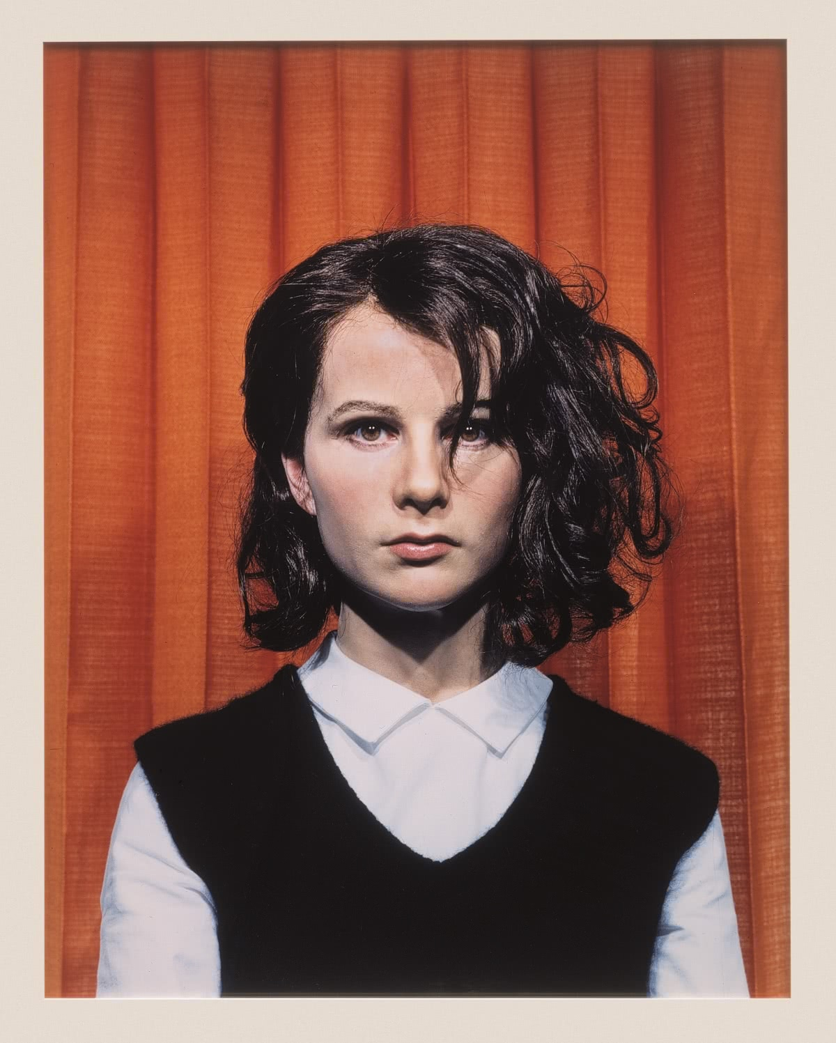 Gillian Wearing. Self portrait at 17 years old. Album. 2003. Collection Albright-Knox Art Gallery, Buffalo, NY. Charles Clifton Fund, 2004. Foto: Tom Loonan.