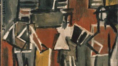 Joaquín Torres-García. Figures dans la rue. 1928.