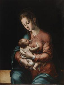 Luis de Morales. La Virgen de la leche, h. 1565. Museo Nacional del Prado, Madrid.