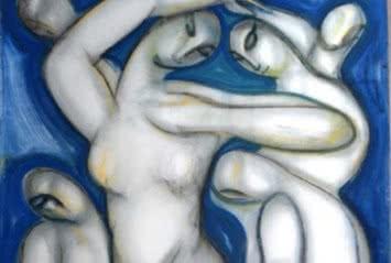 Miguel Herrero. Bailarinas. 1990.