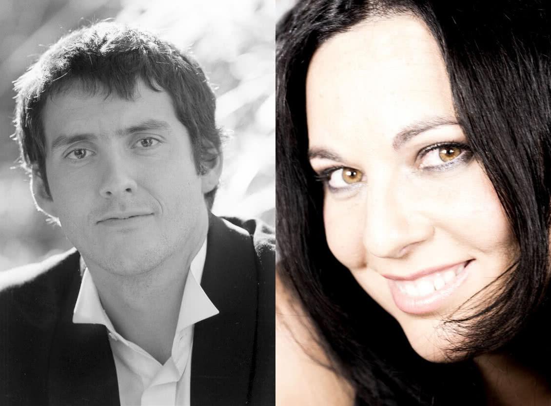 El tenor Andeka Gorrotxategi y la soprano Carmen Solís