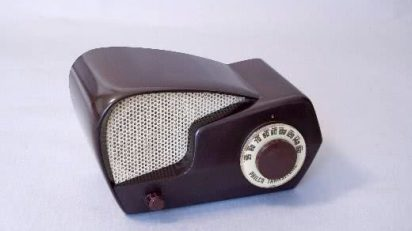 "Radio Philco. Transitone. Model 49-501 ""Boomerang"" 1949."